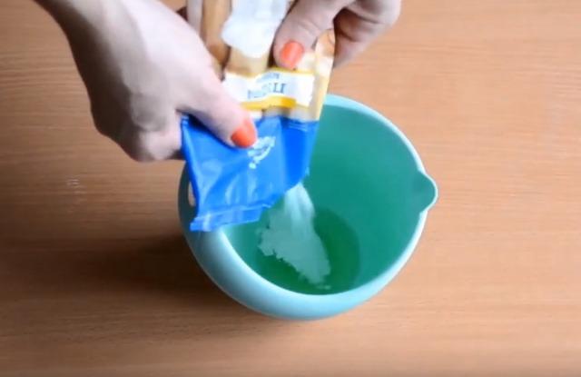 подготовить глазурь