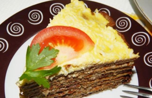порция торта