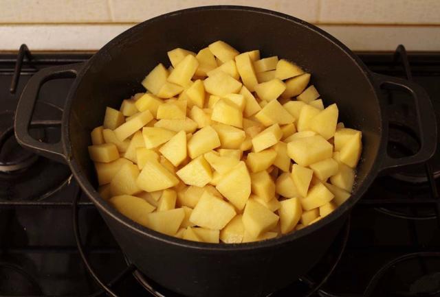 Отправляем картошку