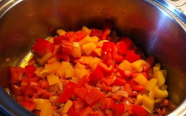 добавить сладкий перец