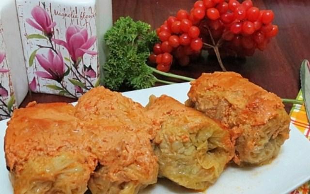 Голубцы из савойской капусты в духовке