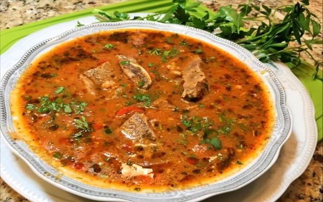 классический суп харчо из баранины