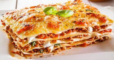Рецепты приготовления классической лазаньи с фаршем, курицей и грибами