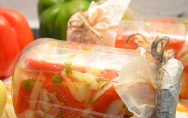 Приготовление салата «Донской» к зиме