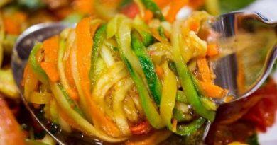 Рецепты заготовки самих вкусных кабачков по-корейски на зиму