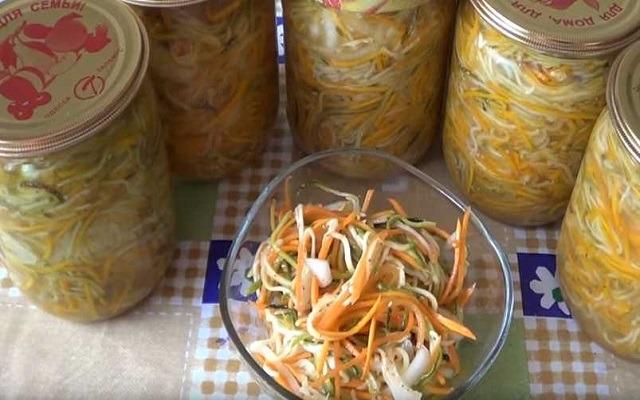 салат по-корейски на зиму