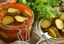 Рецепты самых вкусных  салатов из огурцов на зиму
