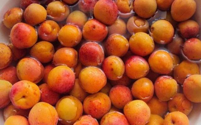 подготовьте абрикосы