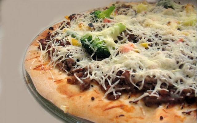 тонкое тесто для пиццы как в пиццерии