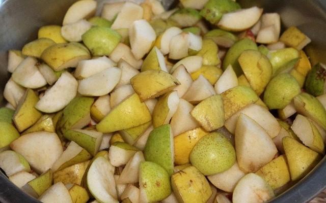 нарезать груши