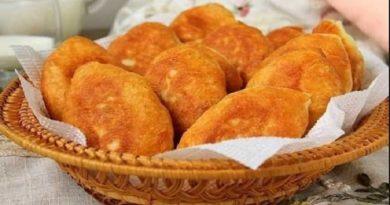 Рецепт приготовления пирожков из дрожжевого теста с начинкой из картошки