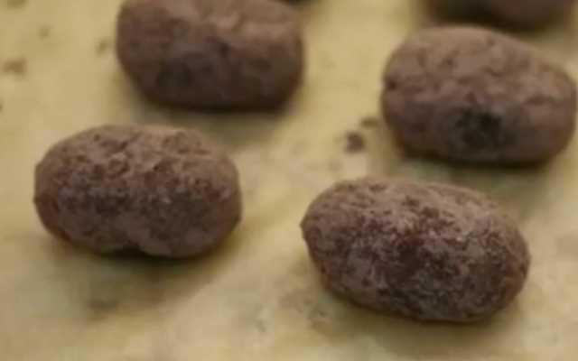 пирожные картошка обвалять в какао