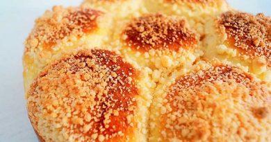 Рецепты сладких сдобных дрожжевых булочек-посыпушек с добавками и начинкой