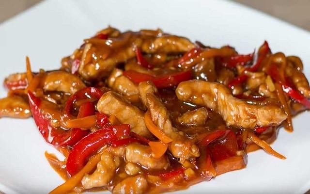 Свинина в кисло-сладком соусе - простой рецепт
