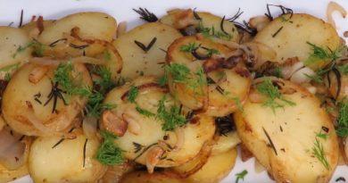 Как жарить картошку — рецепты приготовления жареной картошки на сковороде с луком