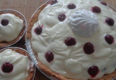 Рецепт очень вкусного торта «Вишенка»  приготовленного на День Рождения дома