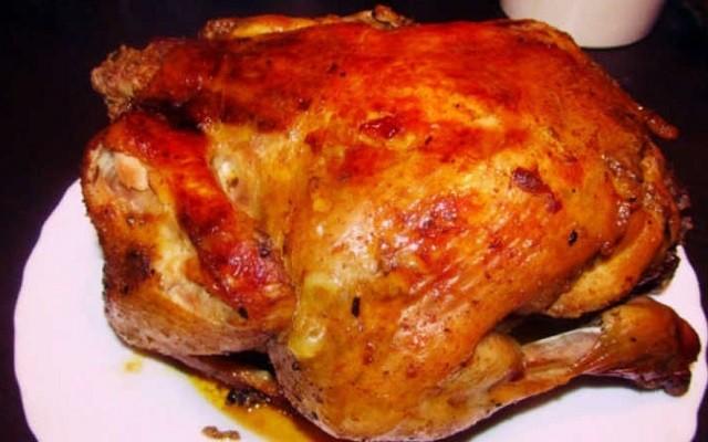 Курица с аджикой и майонезом