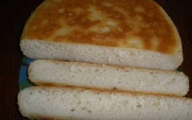 Простой рецепт хлеба на сковороде