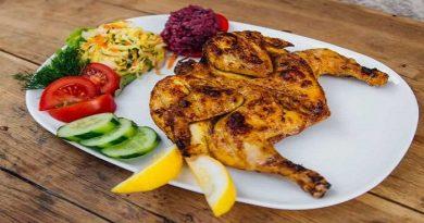 Рецепты цыплёнка табака в маринаде, на сковороде под прессом, в духовке, в мультиварке