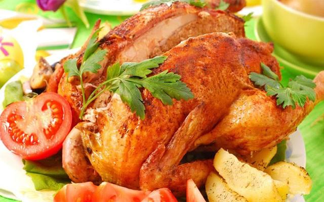 курица в индийском маринаде
