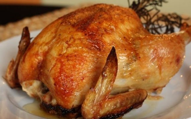 курица в чесночном маринаде