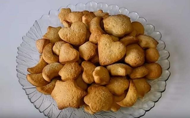 печенье без яиц на рассоле быстро