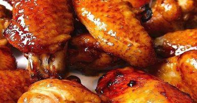 крылышки курицы в маринаде