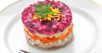 Селёдка под шубой — очень вкусные классические рецепты салата, слои, на праздничный стол