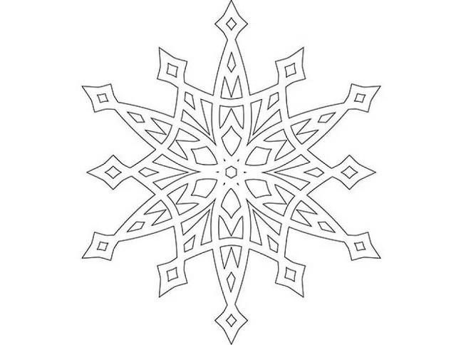 снежинка 5