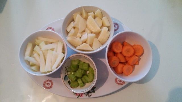 нарезка овощ