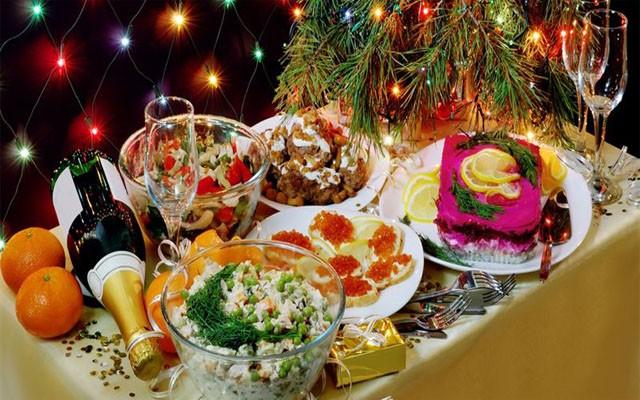 новогоднее меню готово