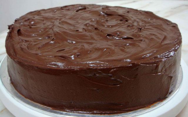 сформированный торт