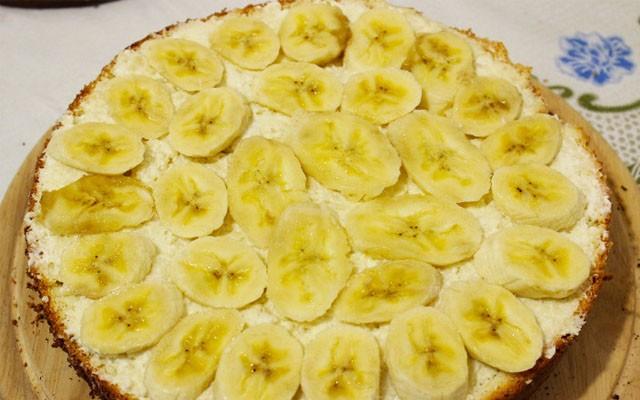 разложить банановую нарезку