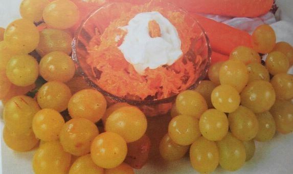 Морковь с творогом