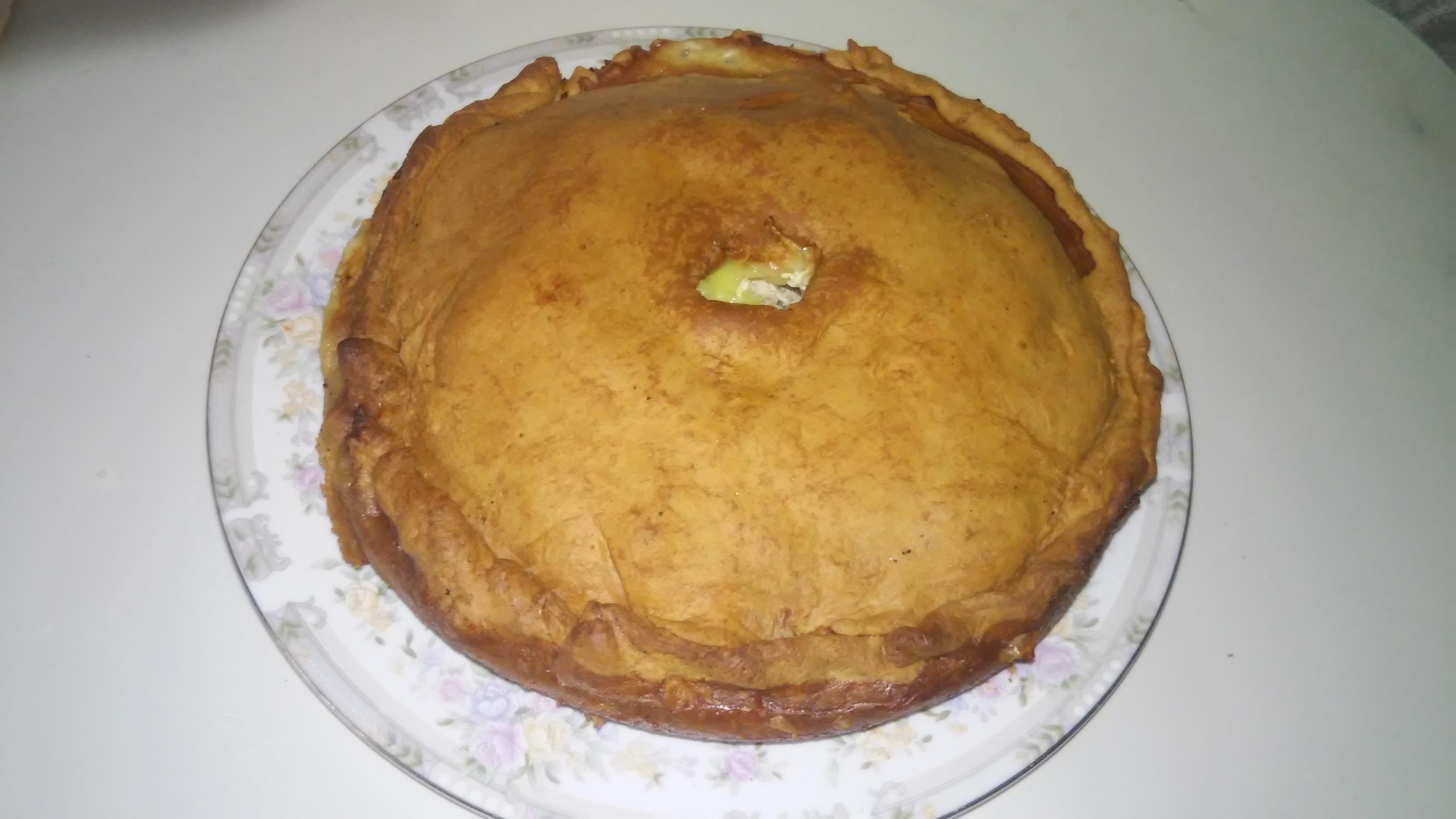 Простой пирог в духовке рецепт пошаговый