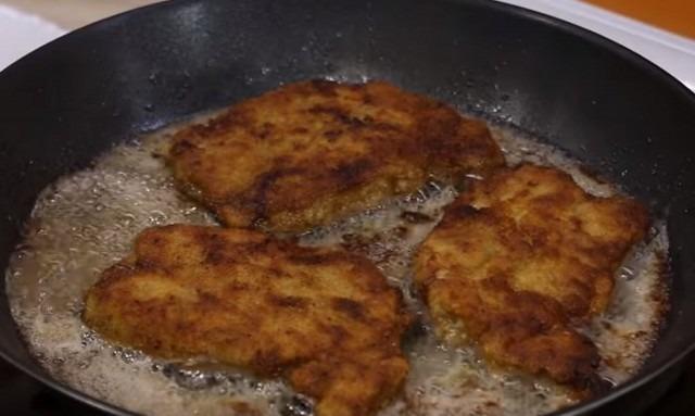 Отбивные из говядины рецепт на сковороде с пошагово в