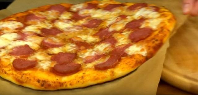 Простой и вкусный рецепт пиццы в духовке