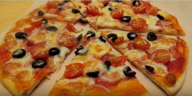 тесто для пиццы 10 рецептов