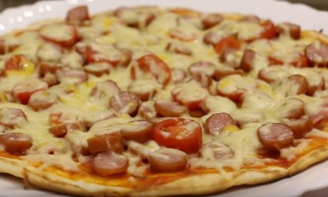 Приготовление пиццы в домашних условиях в духовке быстро