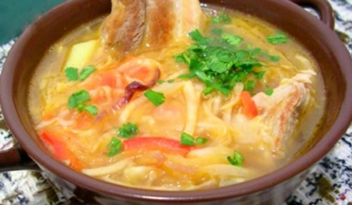 Щи рецепт со свежей капустой и свининой рецепт с пошагово