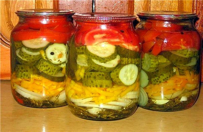 Фото рецепты на зиму салат из огурцов