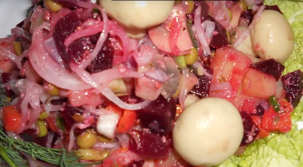 Рецепт с салат классический винегрет рецепт